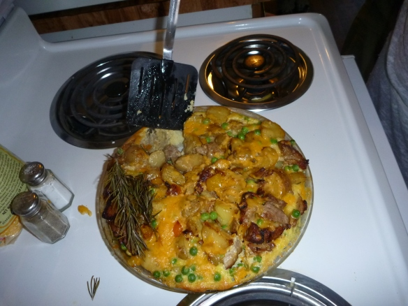 Pork Shoulder Fritatta